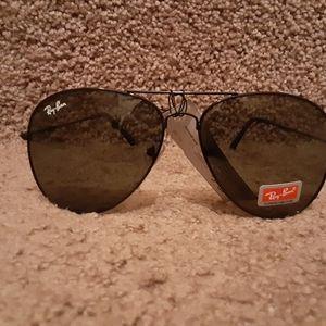 Ray-Ban UV400 Pilots Sunglasses FRAME & LENSES 55m